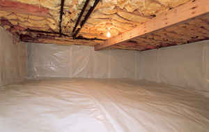 CleanSpace® vapor barrier after in Nepean