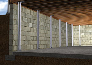 Foundation walls move inward primarily due to expansive soils and hydrostatic pressure on the walls from outside. However, foundation walls...