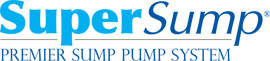 Logo for our SuperSump® Pump System, available in Kanata and other parts of Ontario